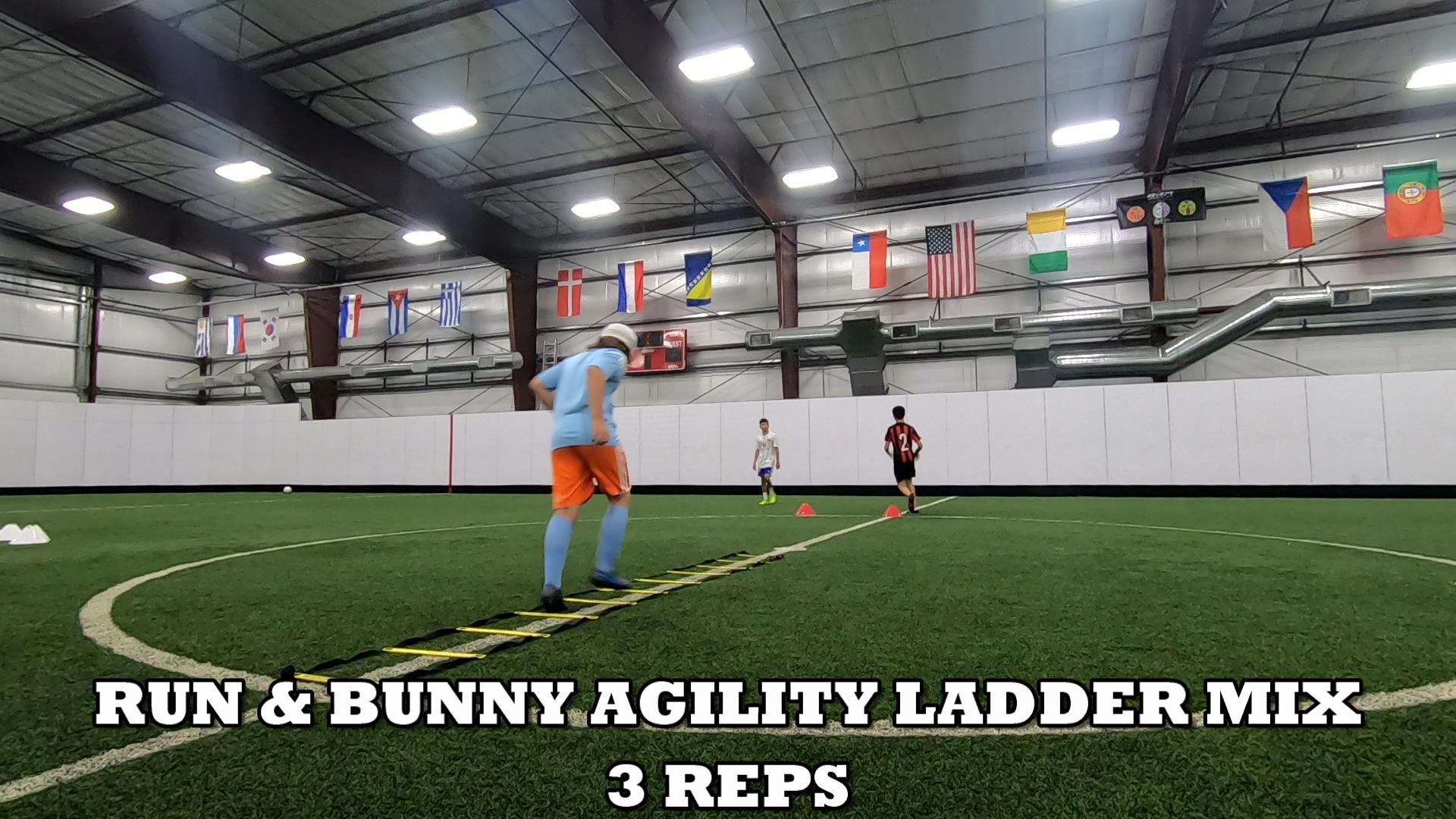 Agility Ladder Drills 2