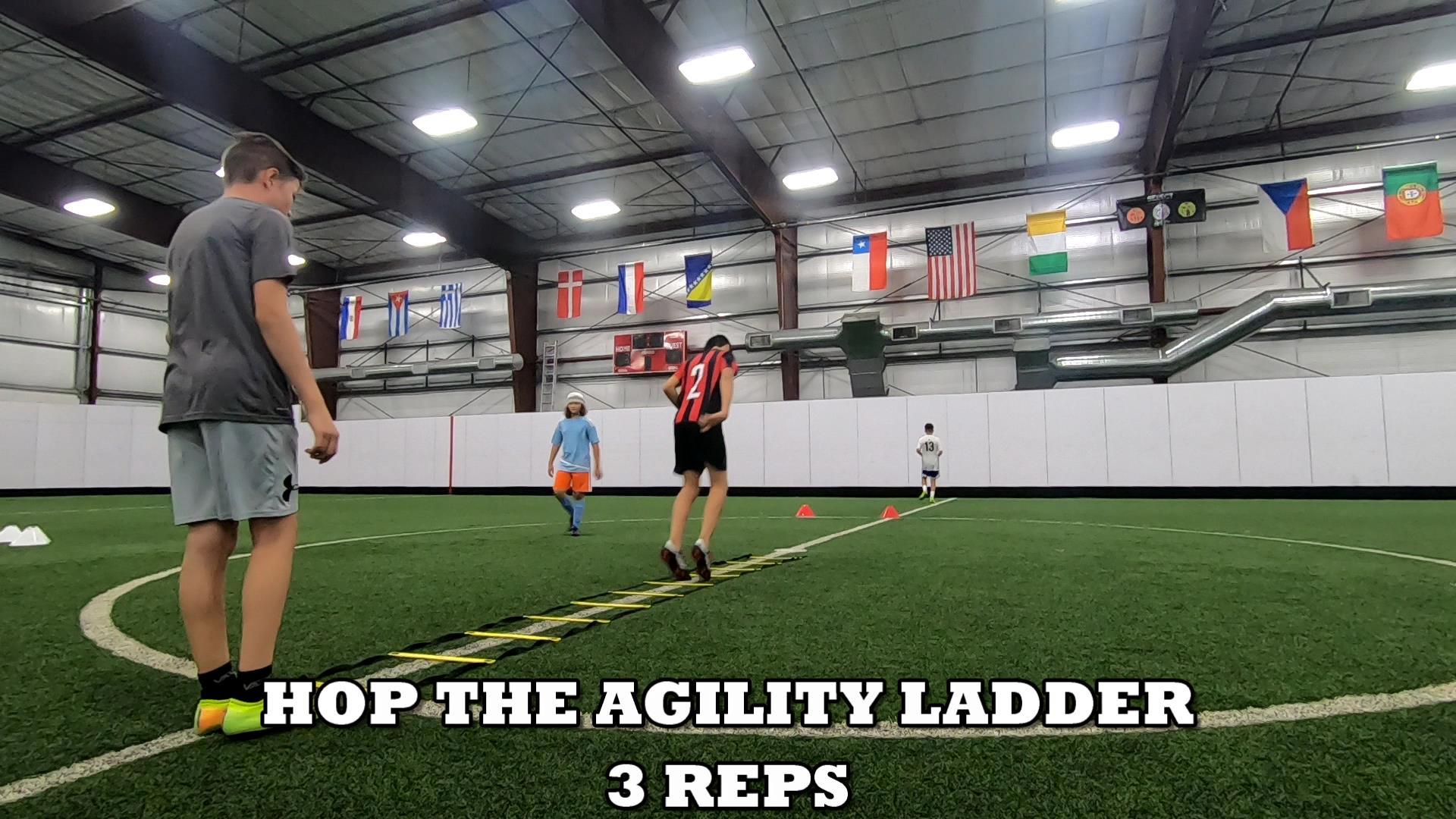 Agility Ladder Drills 5