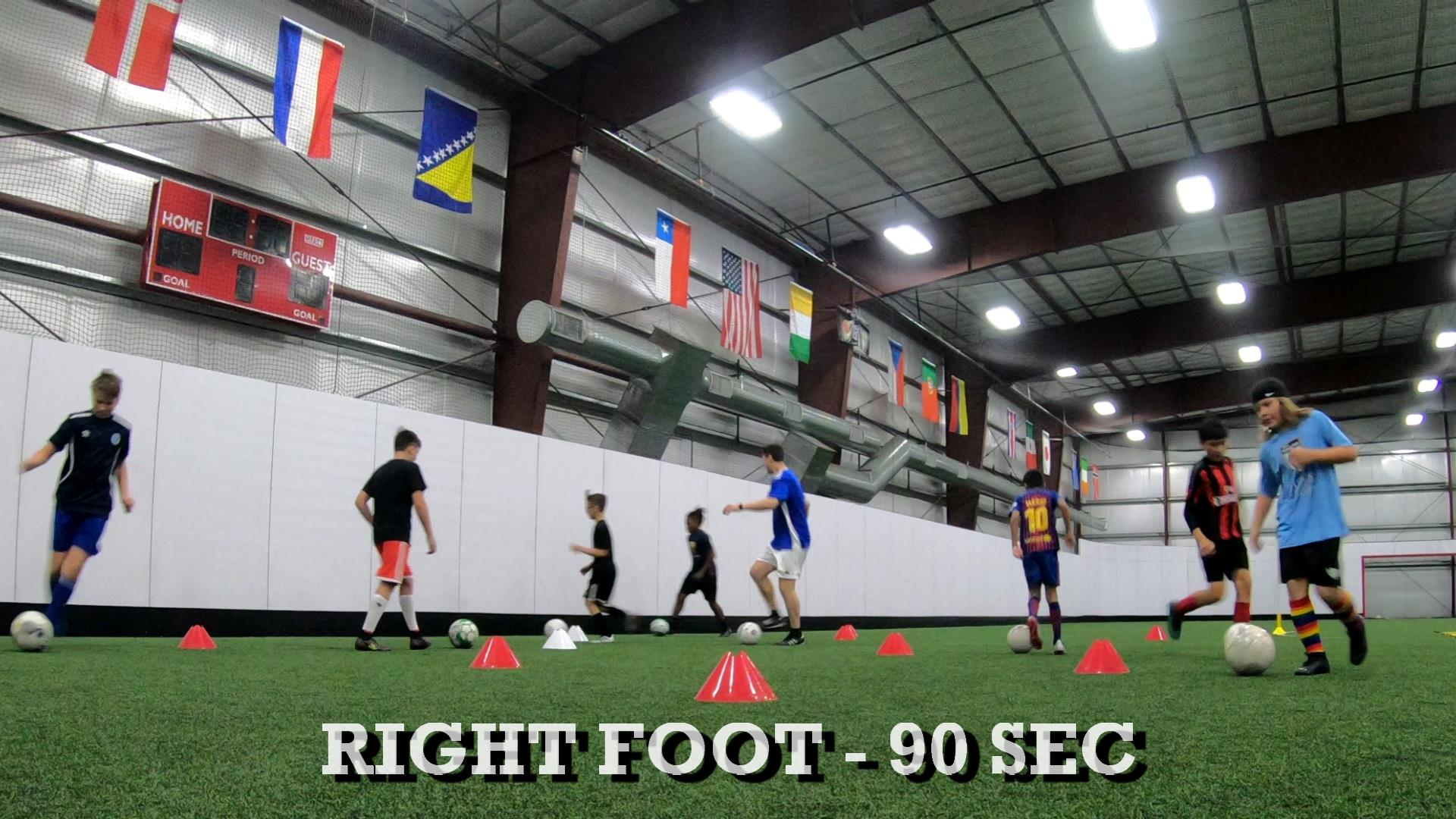 Indoor Soccer Training 1