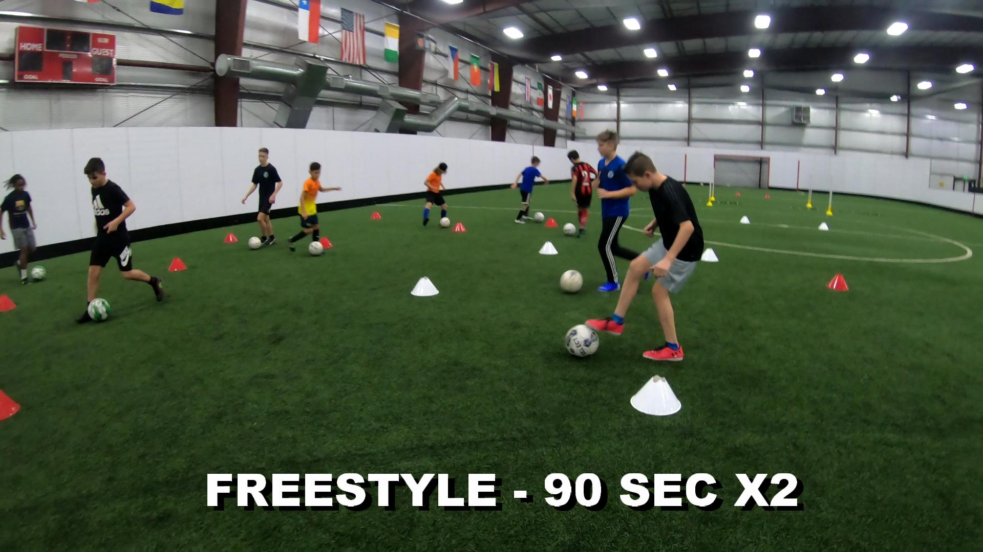SOCCER COACHING DRILLS FOR KIDS 1