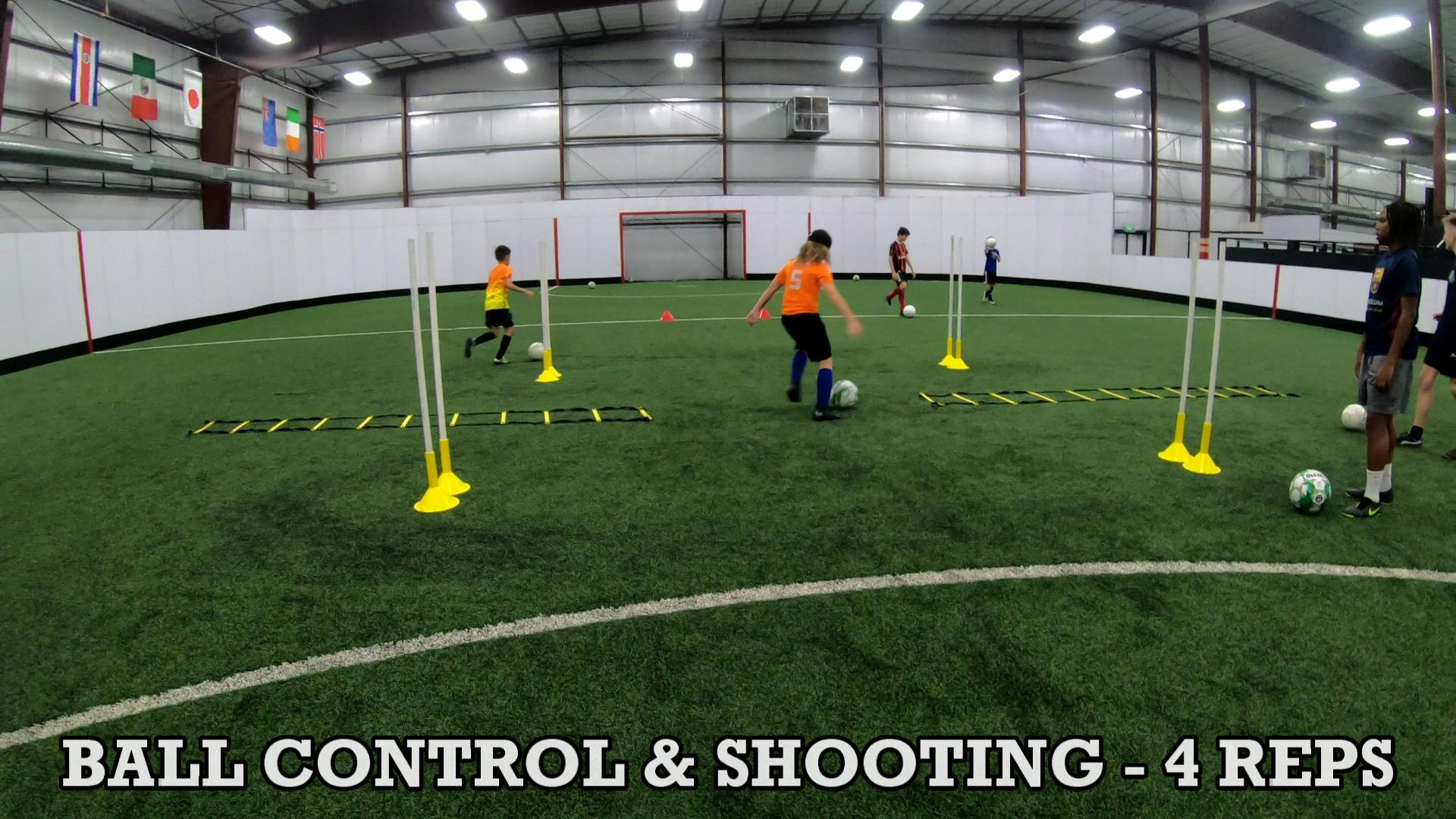SOCCER COACHING DRILLS FOR KIDS 8