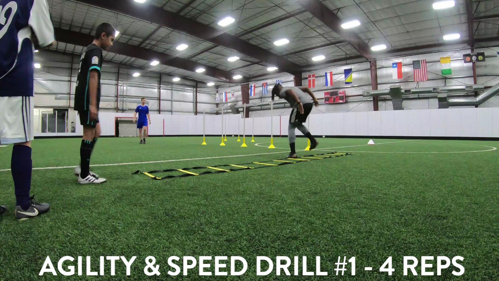 Soccer Fitness and Ball Control 3
