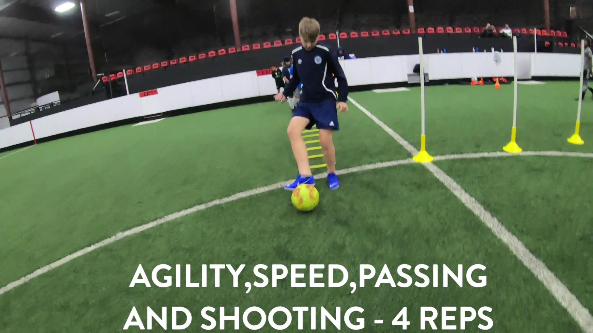 Soccer Fitness and Ball Control 4
