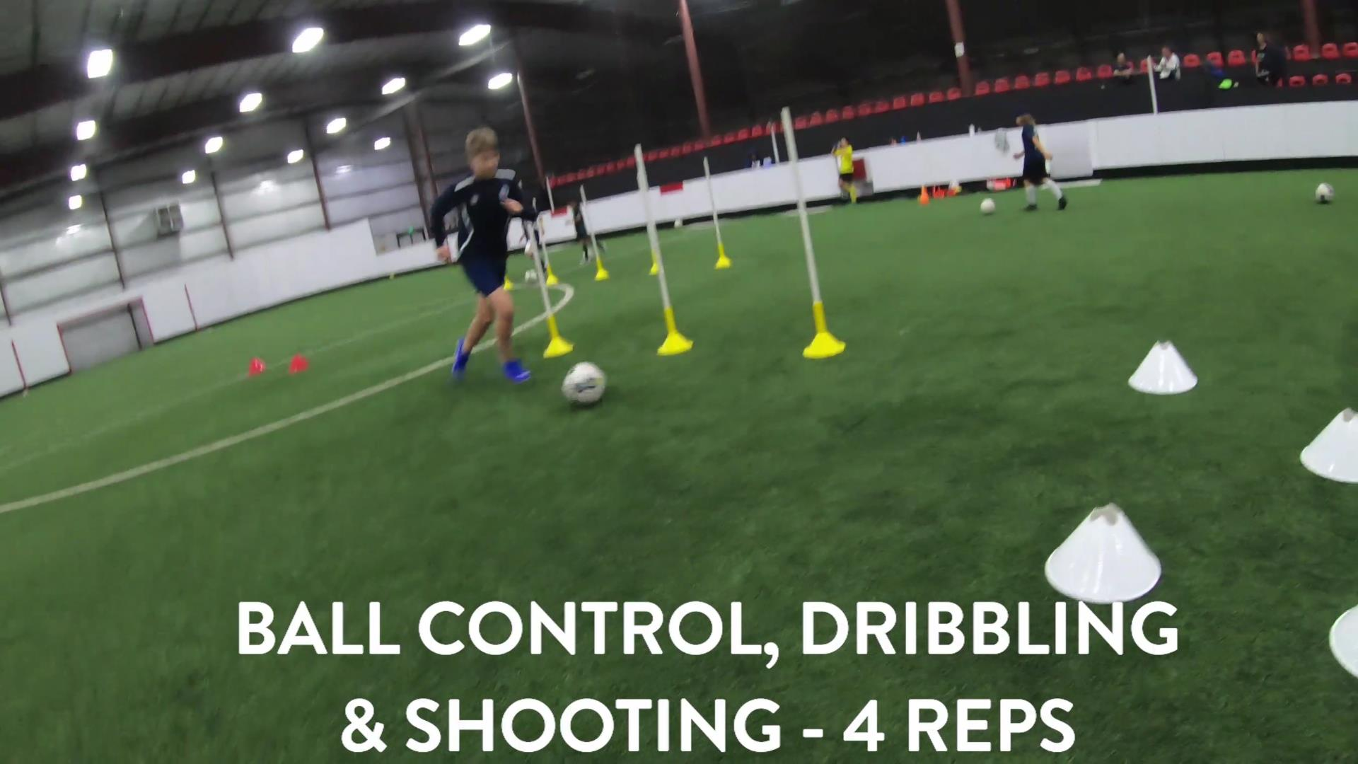 Soccer Fitness and Ball Control 5