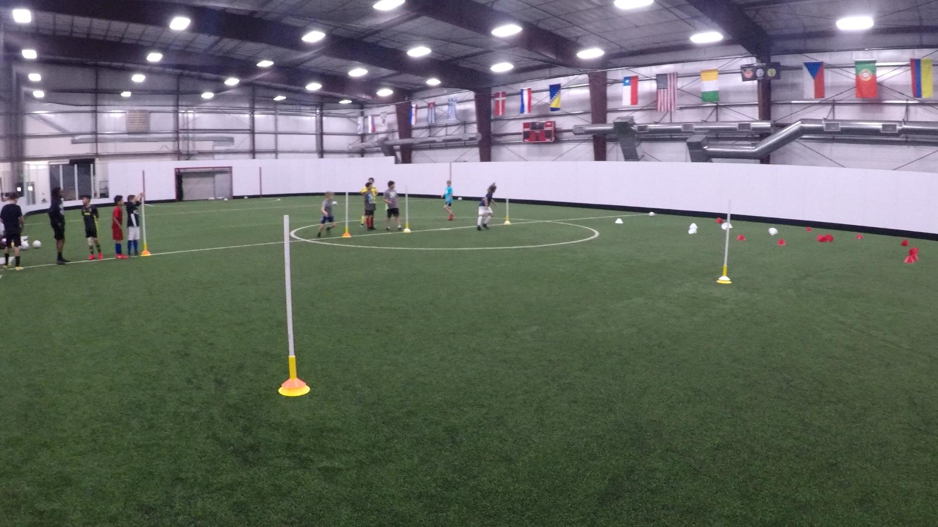 Youth Soccer Training 8-25-2019