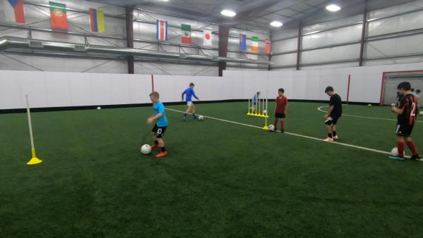 Youth Soccer Training 9-8-2019