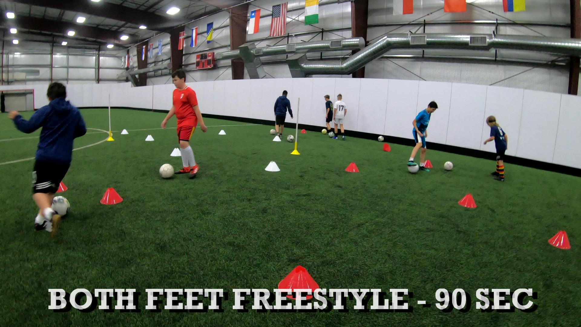 Soccer Training Sessions 1