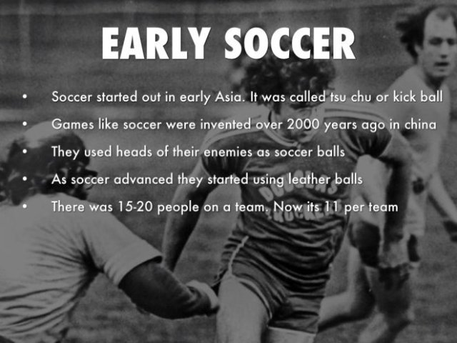 history of soccer, soccer history, a brief history about soccer, history about soccer, the