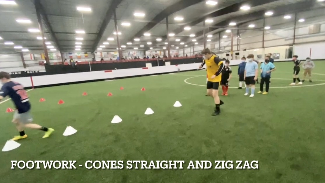 Kids Soccer Training Session Agility, Speed, Control