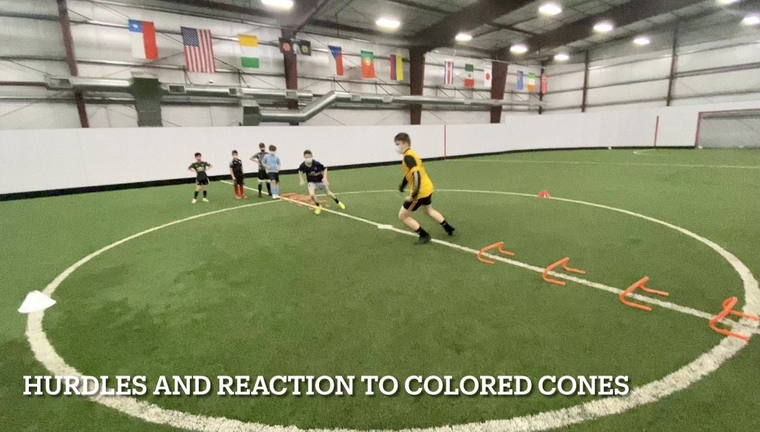 Kids Soccer Training Session Agility, Speed, Reaction