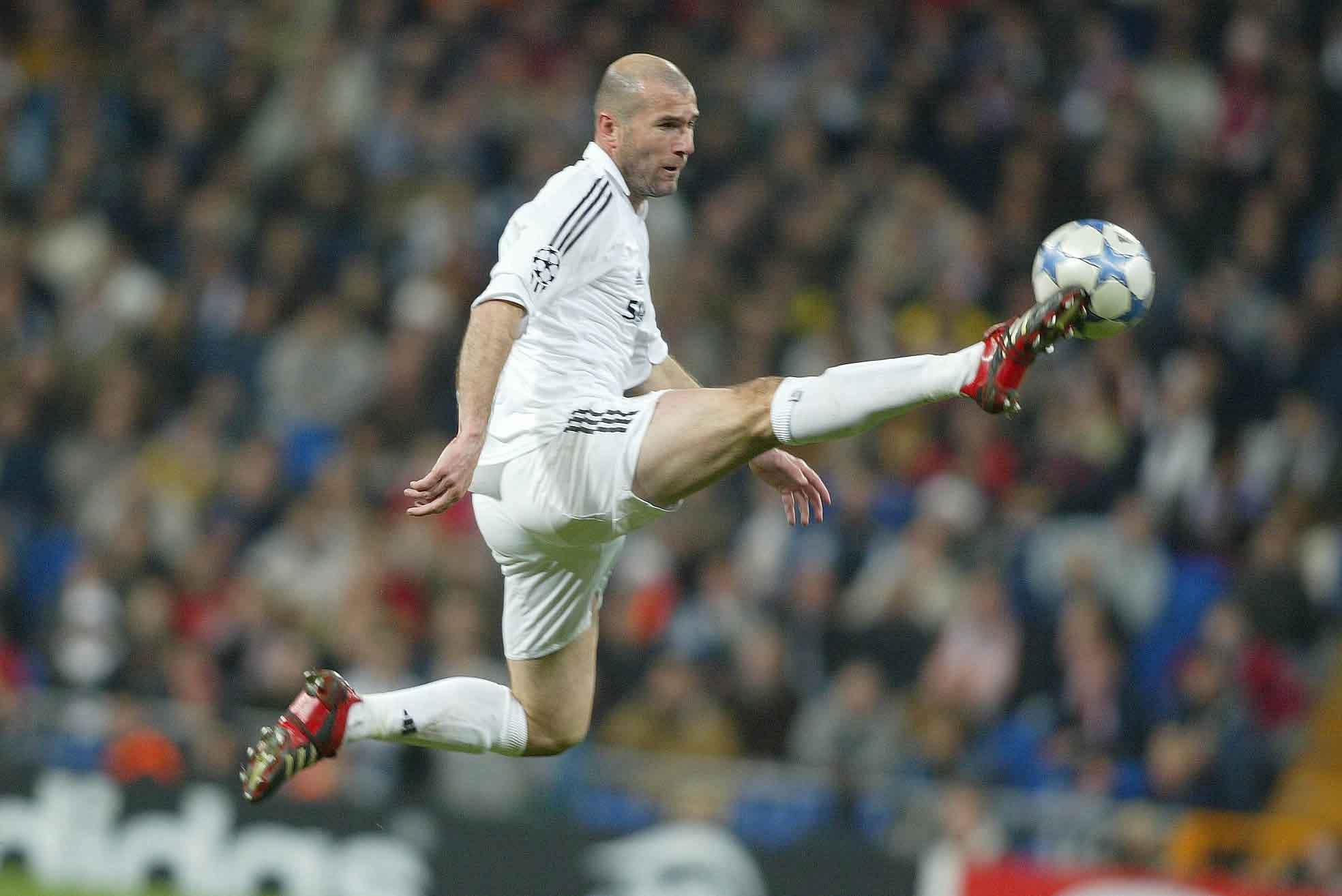Zinedine Zidane First Touch King