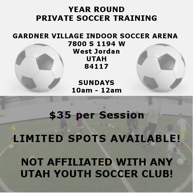 Private Soccer Training in Utah