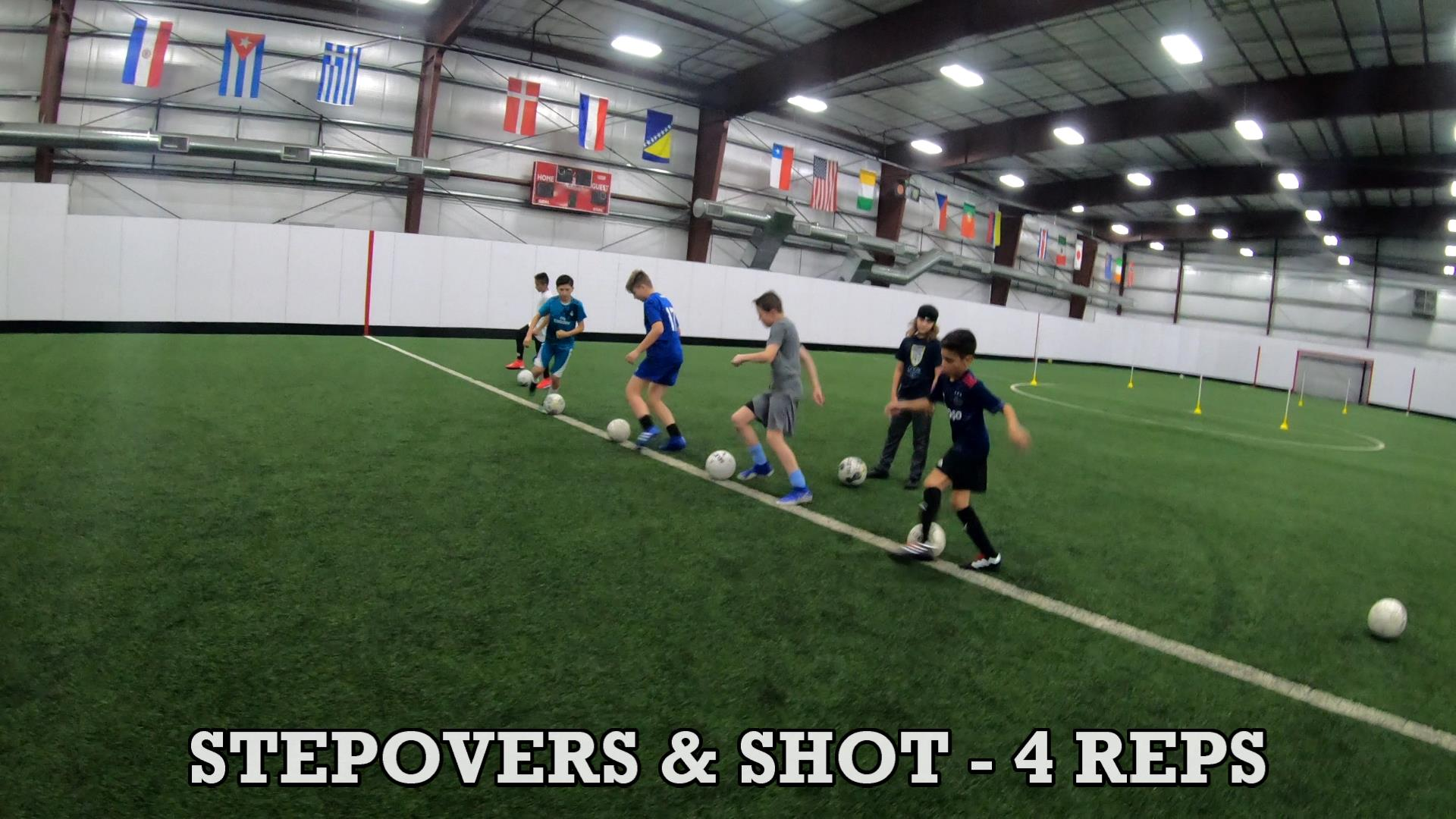 Drills for Soccer Ball Control 4