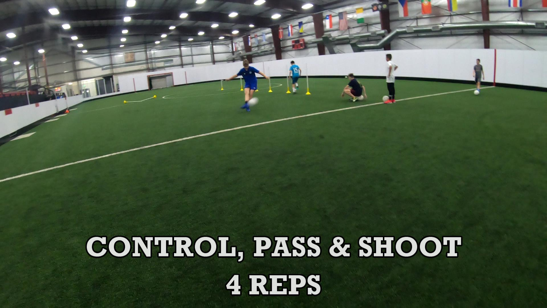 Drills for Soccer Ball Control 8