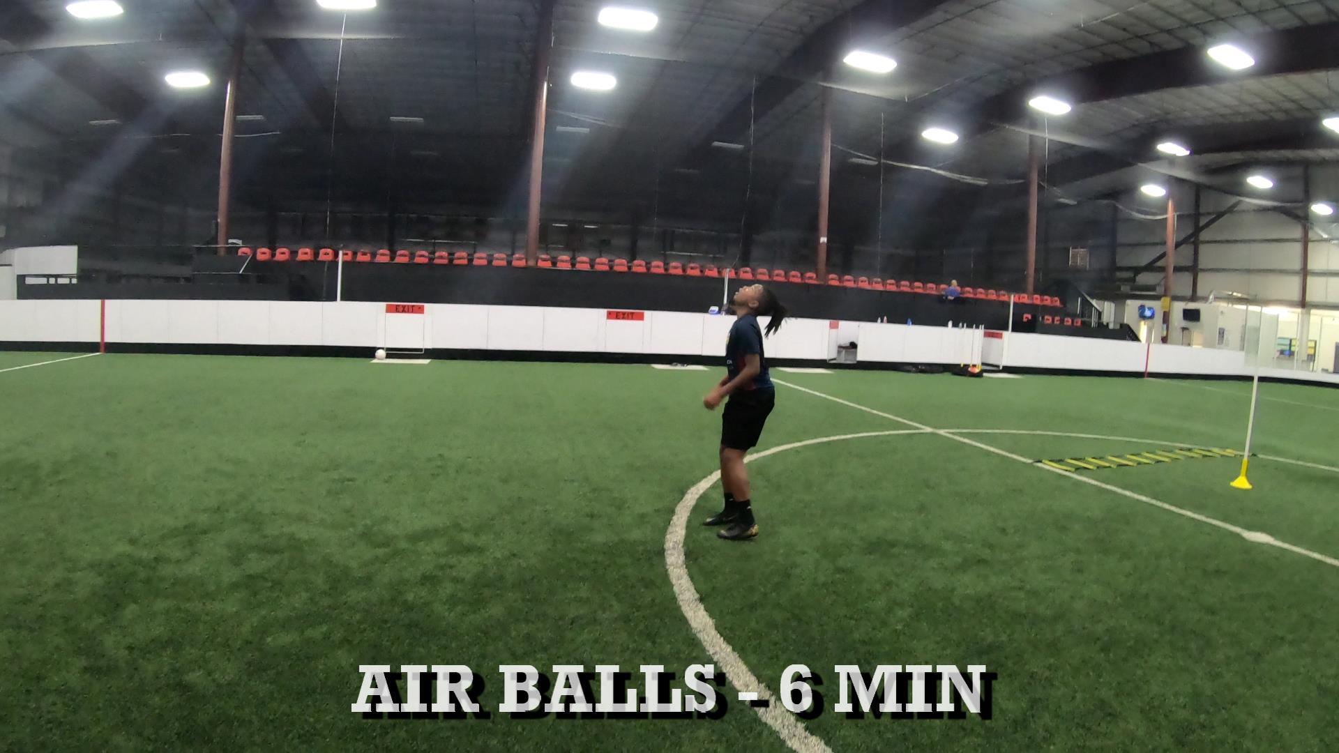 Indoor Soccer Training 2