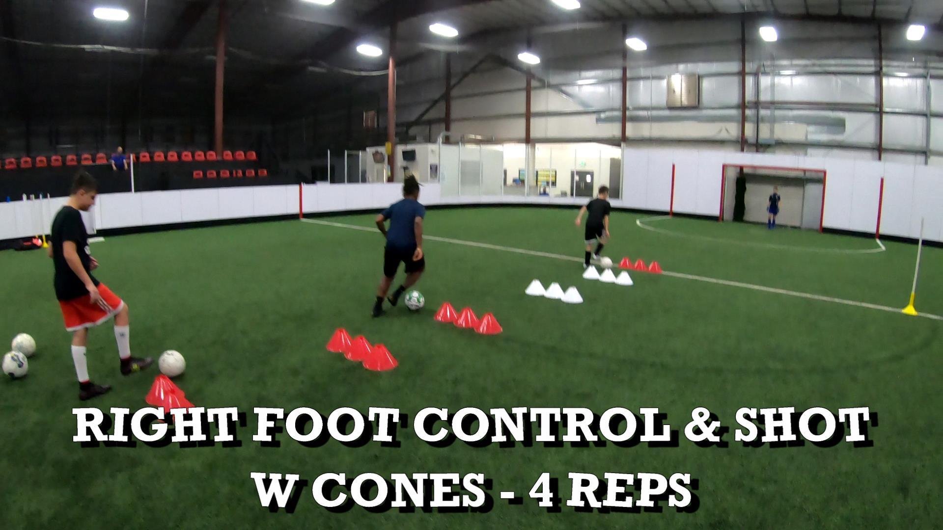 Indoor Soccer Training