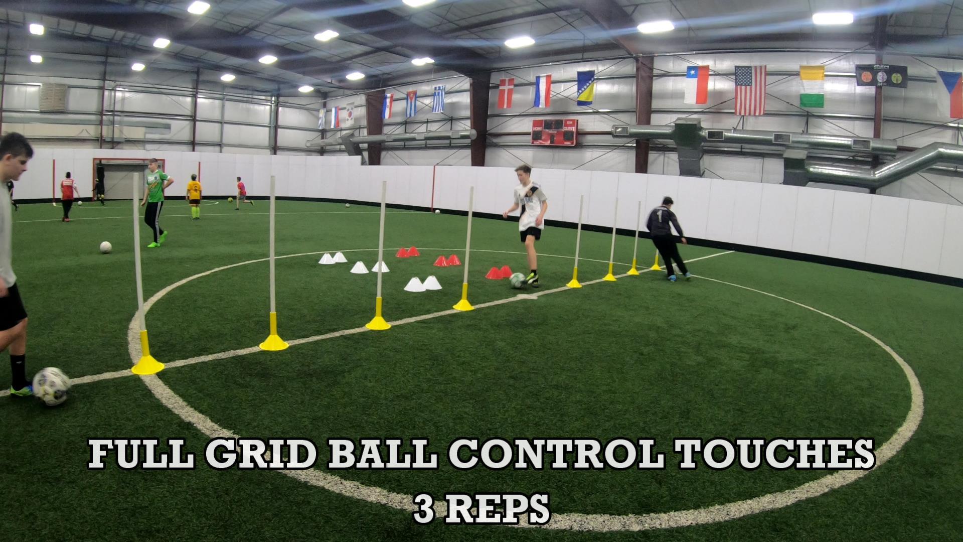 Soccer Coaching Session Plan 7
