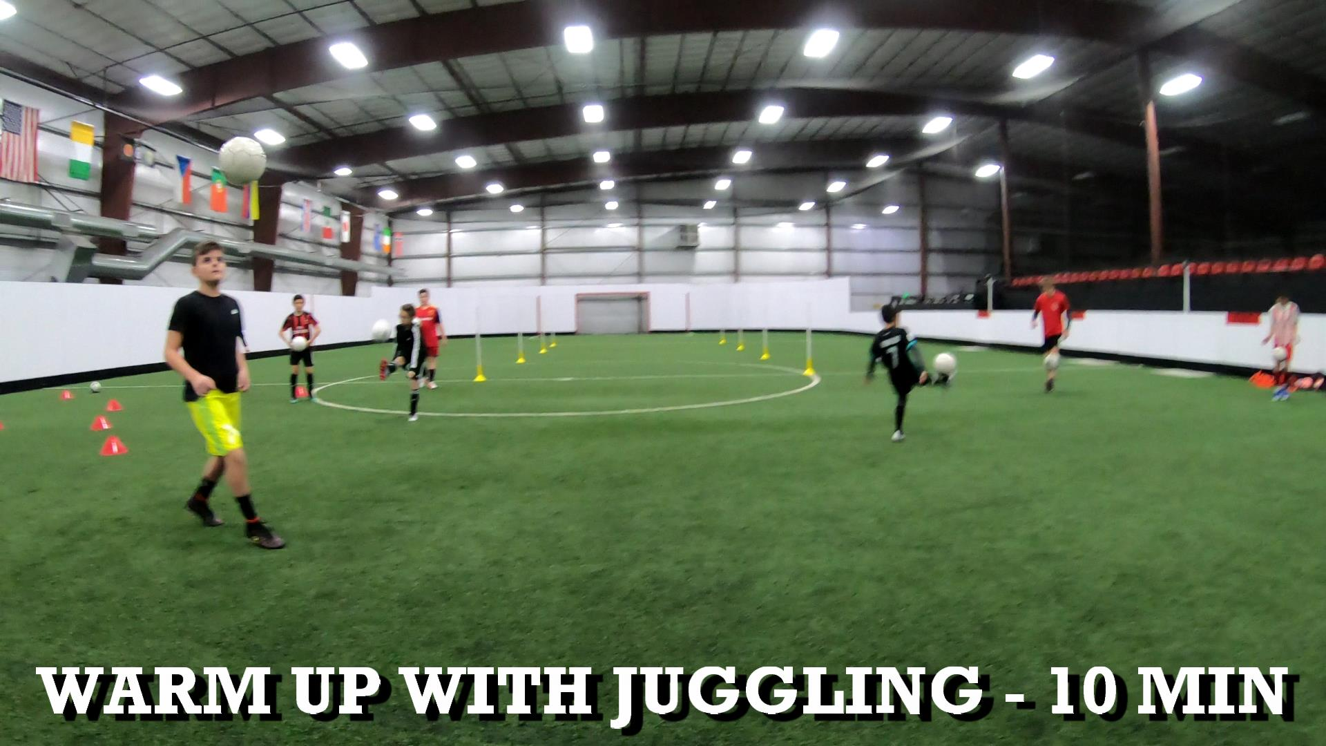 Soccer Training Drills and Skills 1