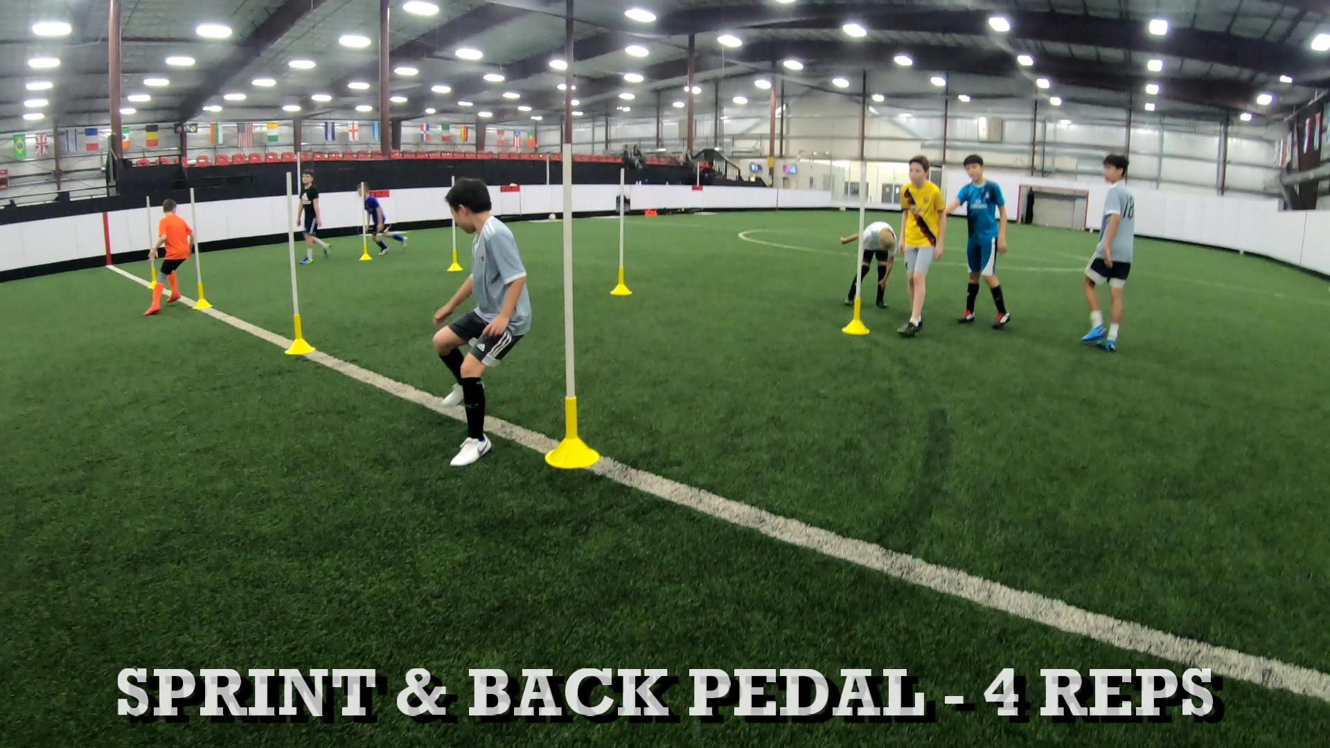 Soccer Training Drills to Improve Ball Control 4