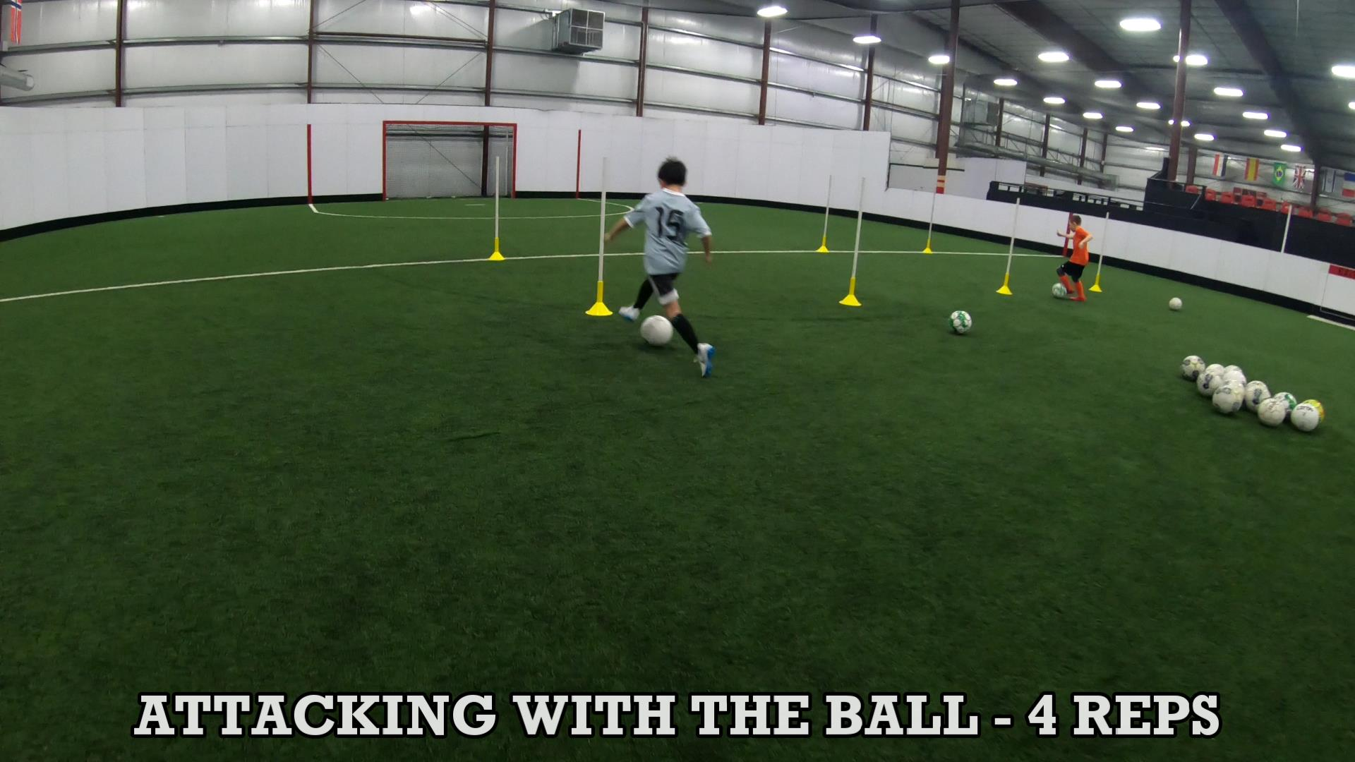 Soccer Training Drills to Improve Ball Control 6