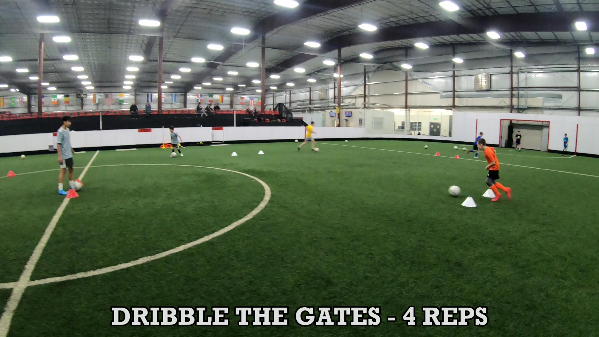 Soccer Training Drills to Improve Ball Control 8