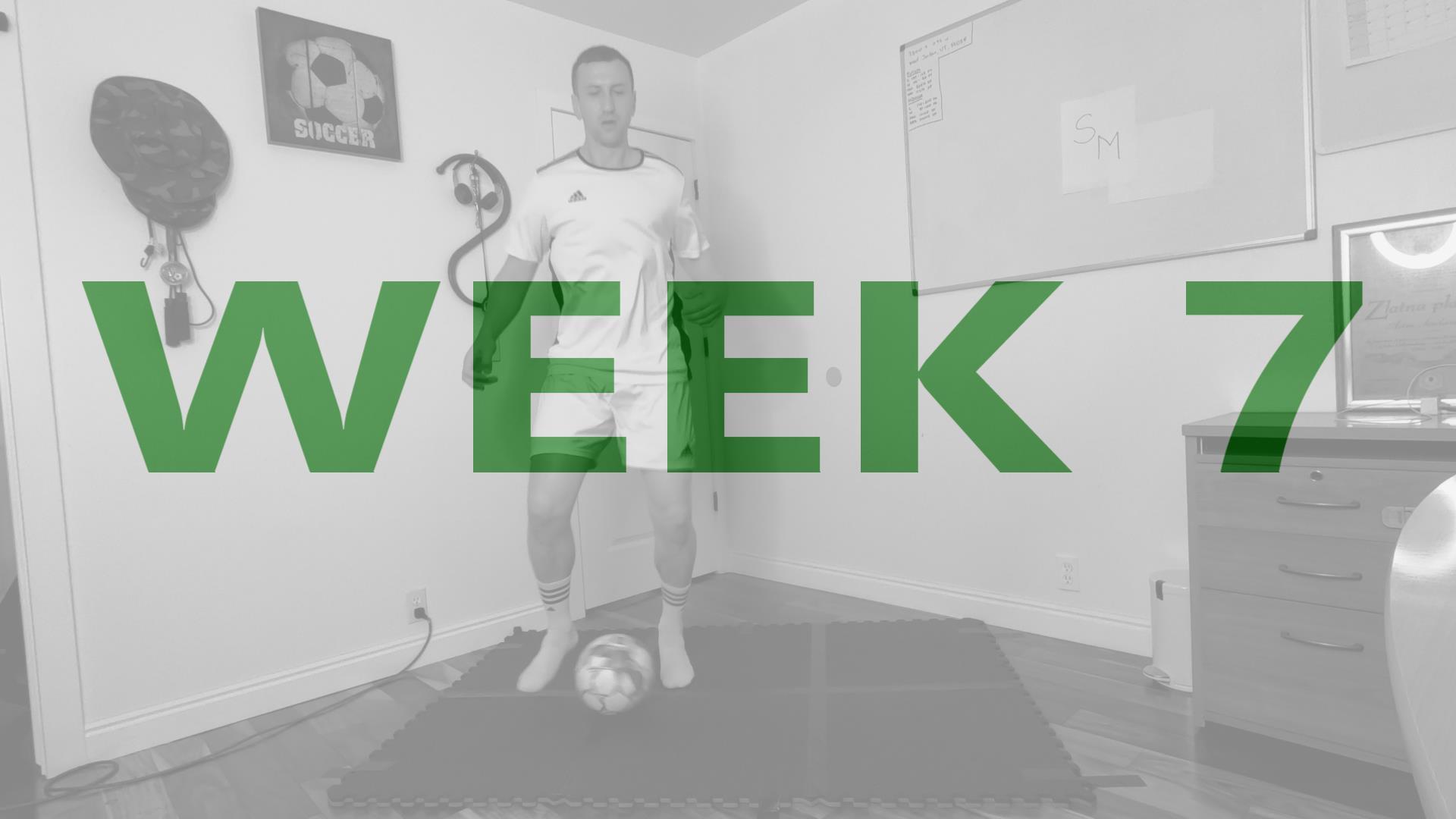 Youth Soccer Training Program Week 7