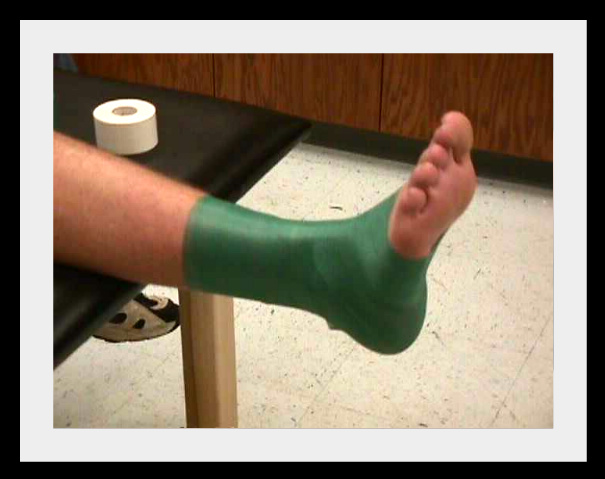 a brief introduction to how to tape an ankle if you have a sport injury Yes, that crazy colored tape you see on athletes has many practical uses - rehab, injury prevention, pain prevention, and a competitive edge, just to start.