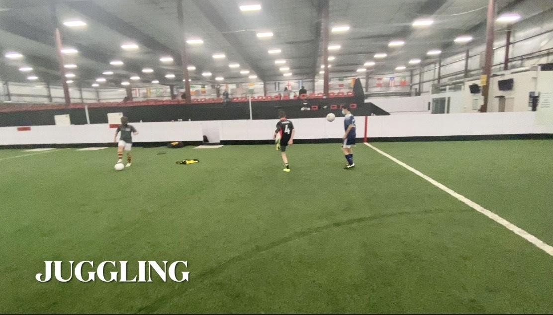 Soccer Skills Training - Juggling