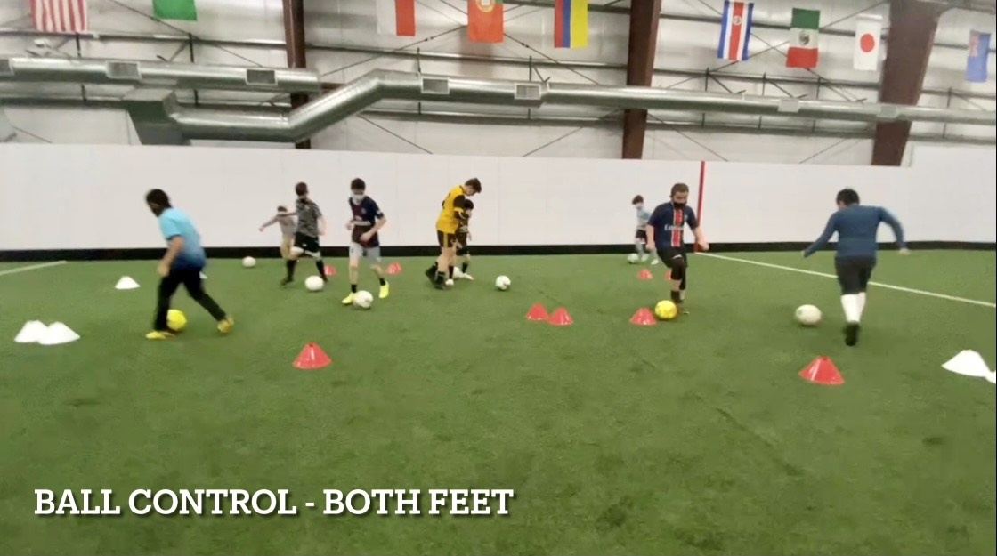 Kids Soccer Training Session - Ball Control