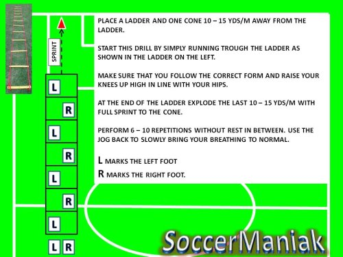 agility ladder drills, speed ladder drills, agility ladder soccer training, agility ladder workouts