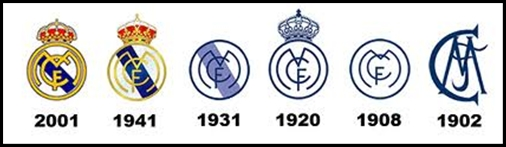 real madrid logo history real madrid logo history