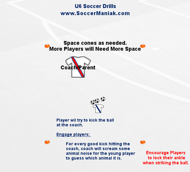 beginner soccer drills