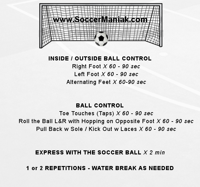 soccer drill, individual soccer training, soccer training for kids, soccer dribbling drills