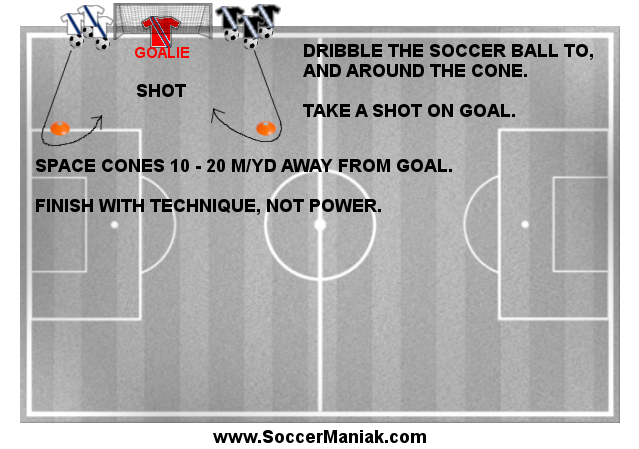 Improve Soccer Shooting
