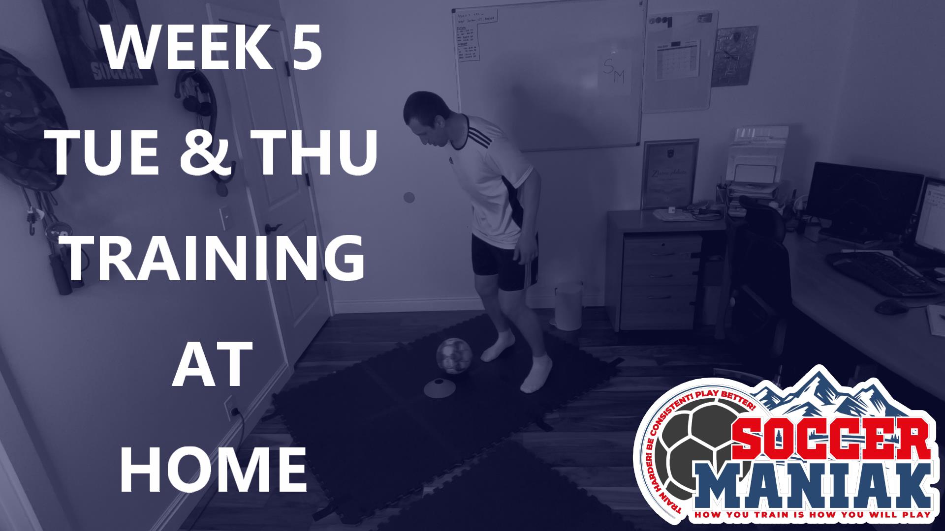 Soccer Training Exercises at Home