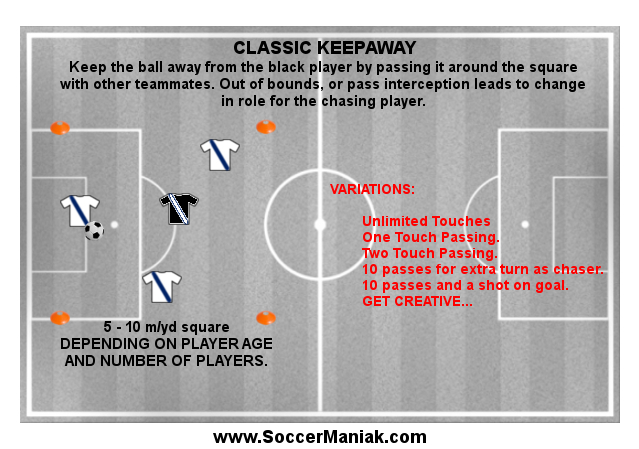Warm Up Game for Soccer