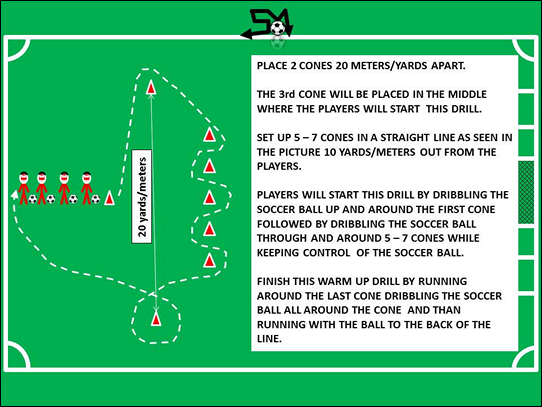 Soccer Warm Up Drills U12