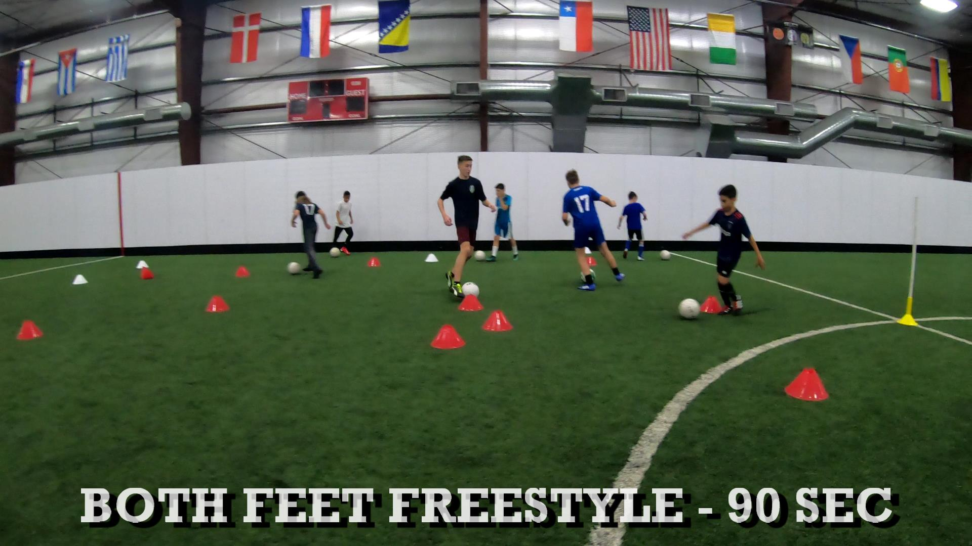 Drills for Soccer Ball Control 1