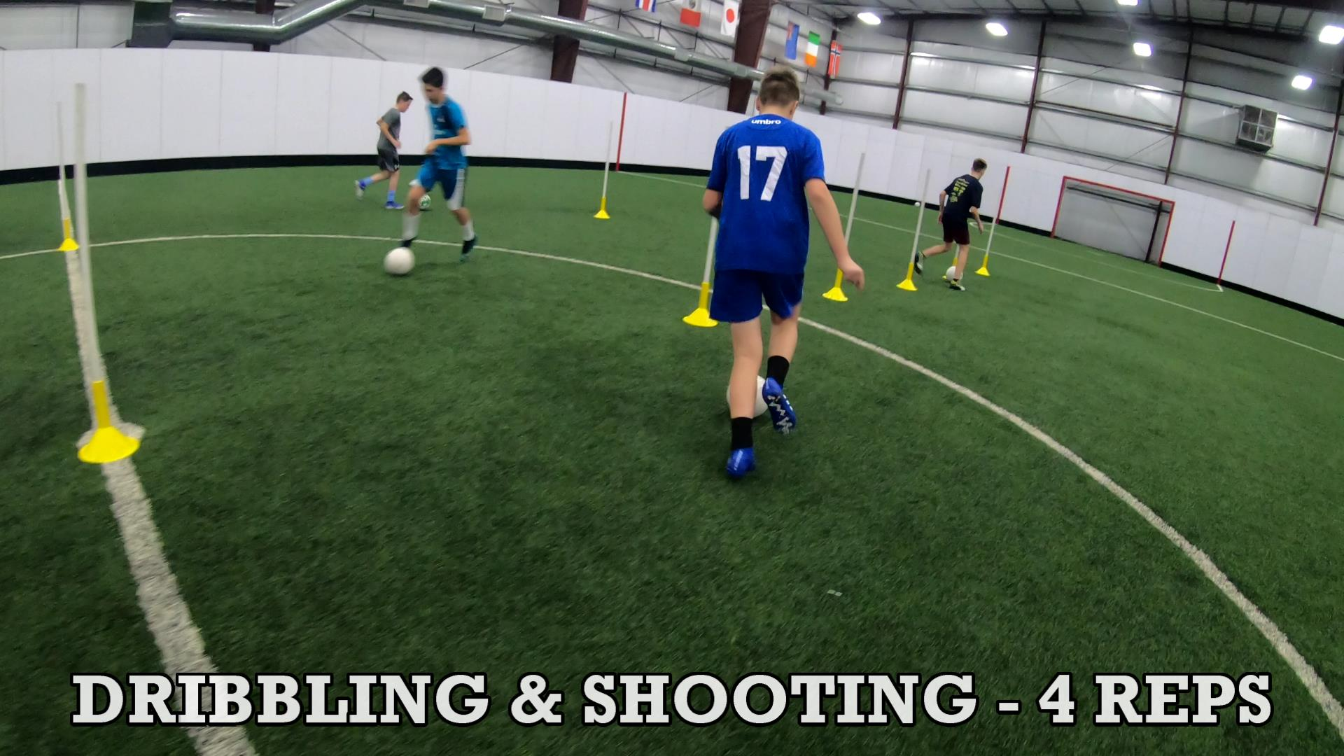 Drills for Soccer Ball Control 7