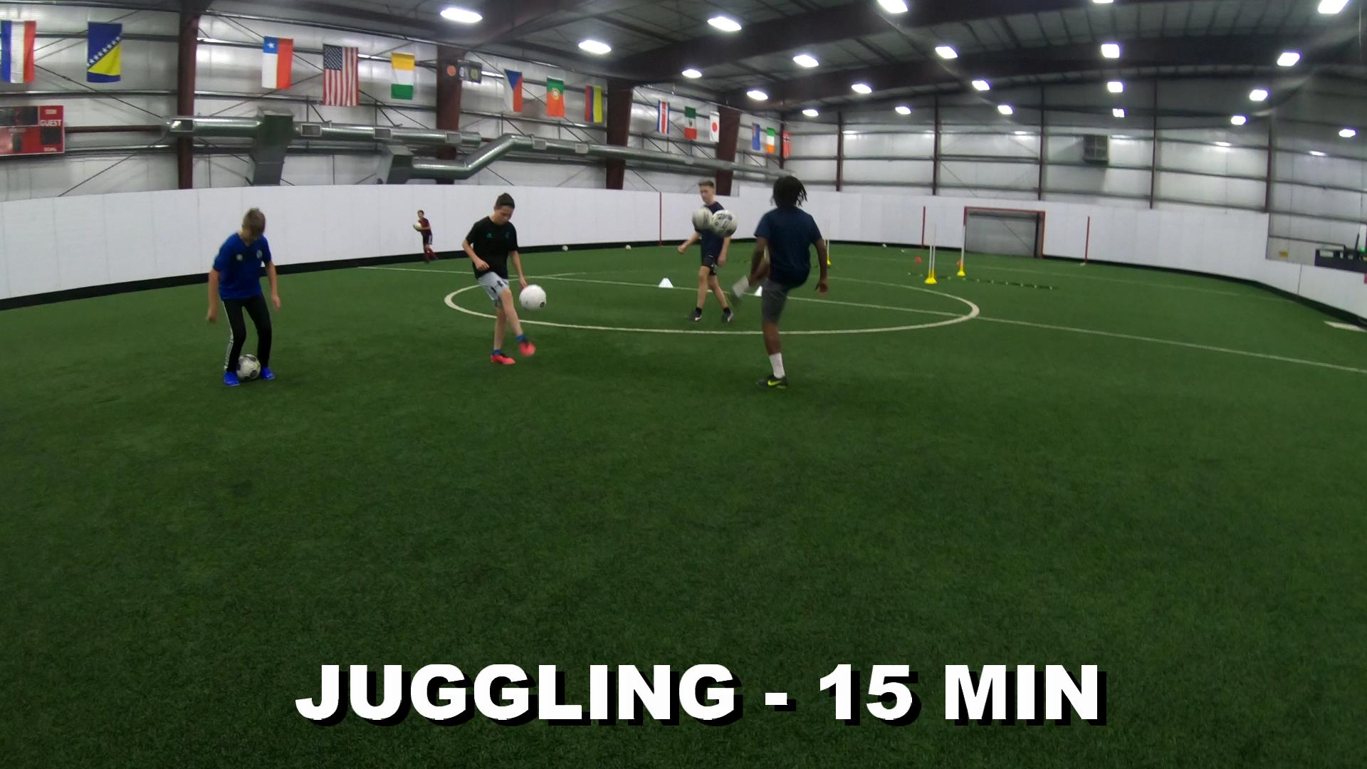 SOCCER COACHING DRILLS FOR KIDS