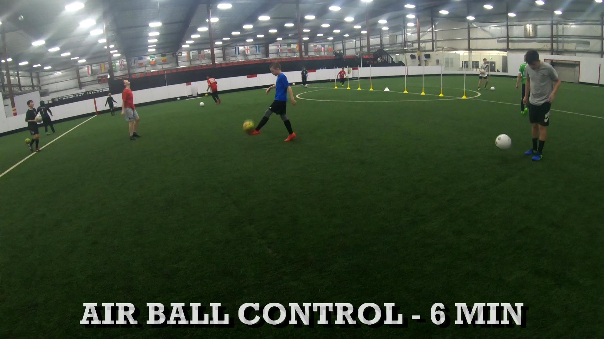 Soccer Coaching Session Plan 1