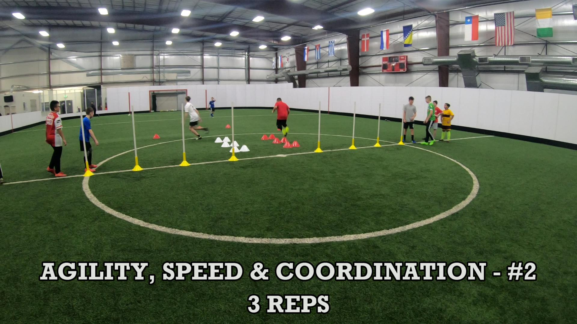 Soccer Coaching Session Plan 5