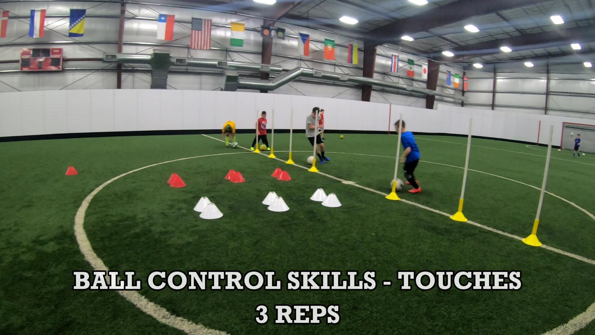 Soccer Coaching Session Plan 6