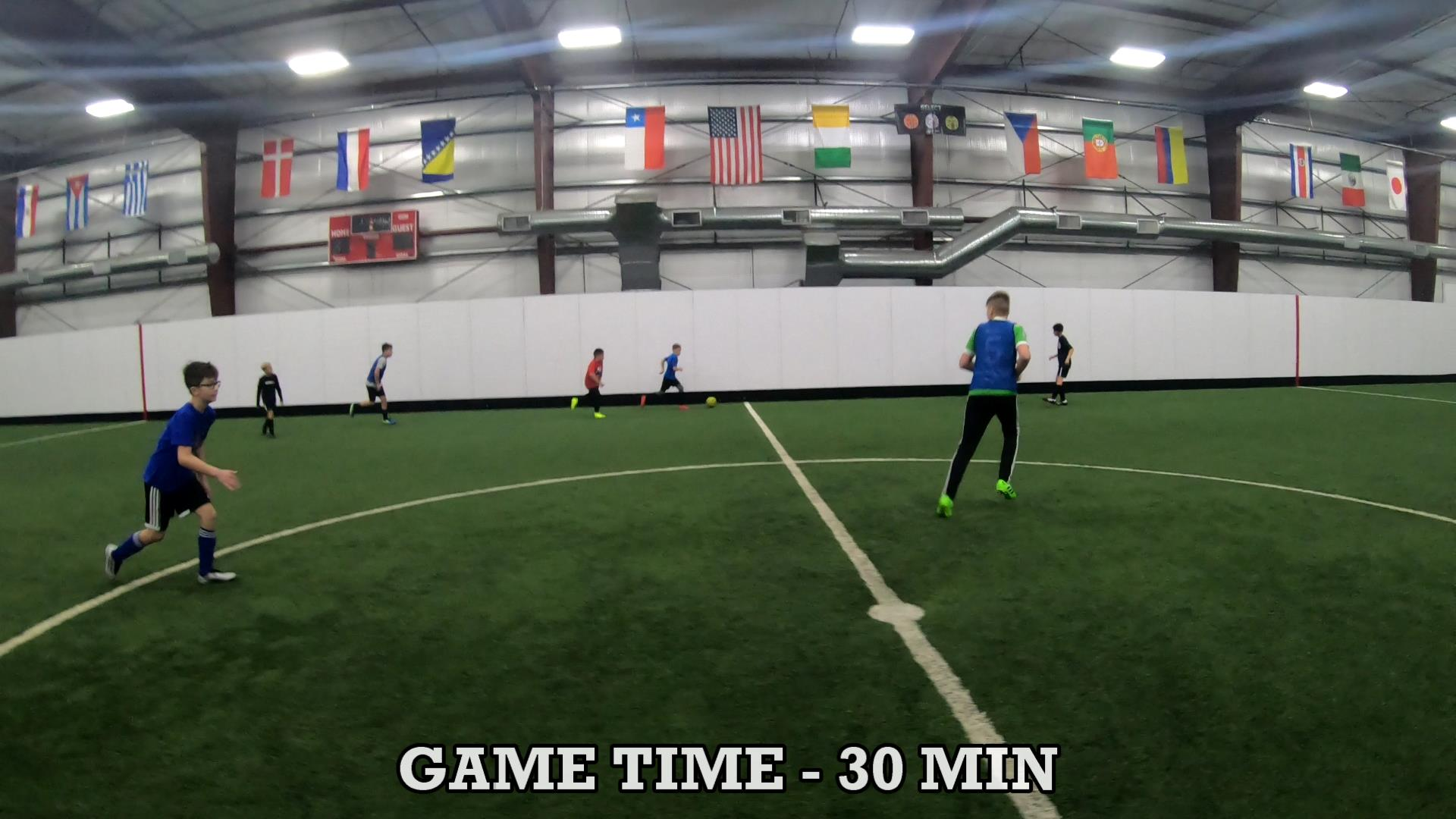 Soccer Coaching Session Plan 9