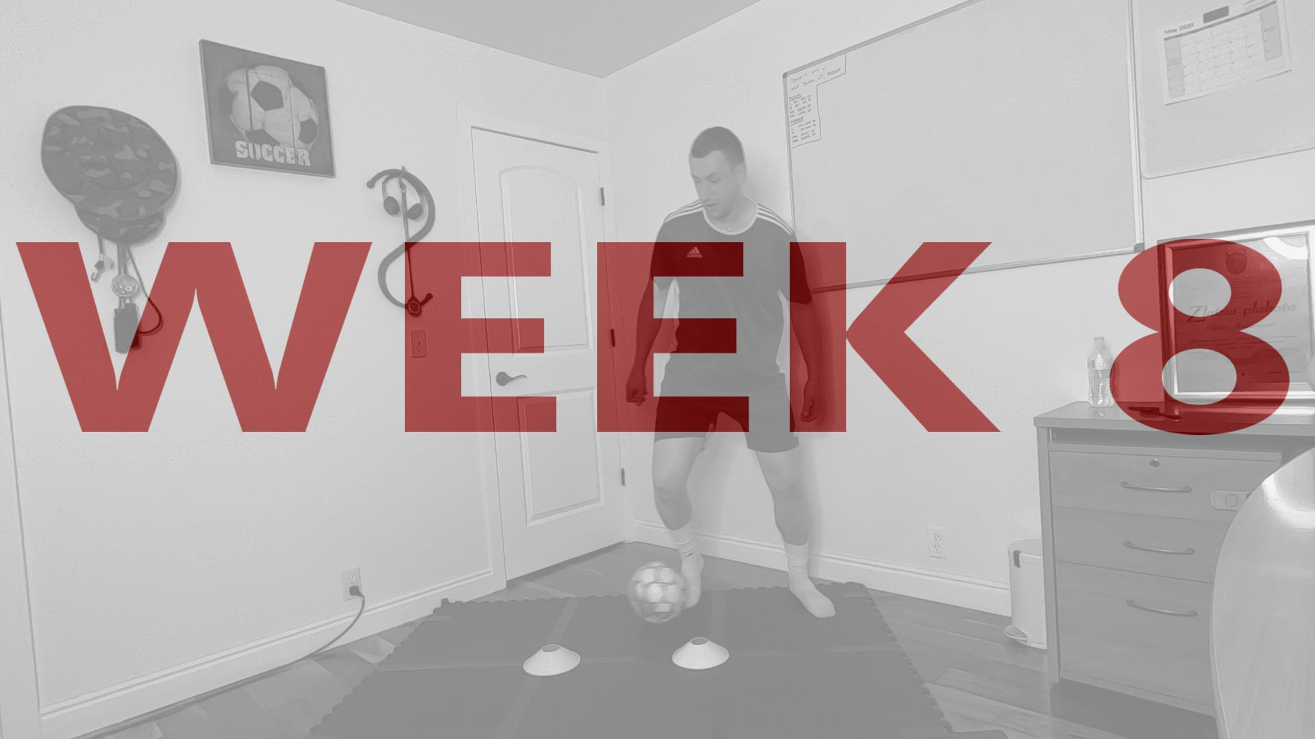 Soccer Conditioning with Ball Week 8