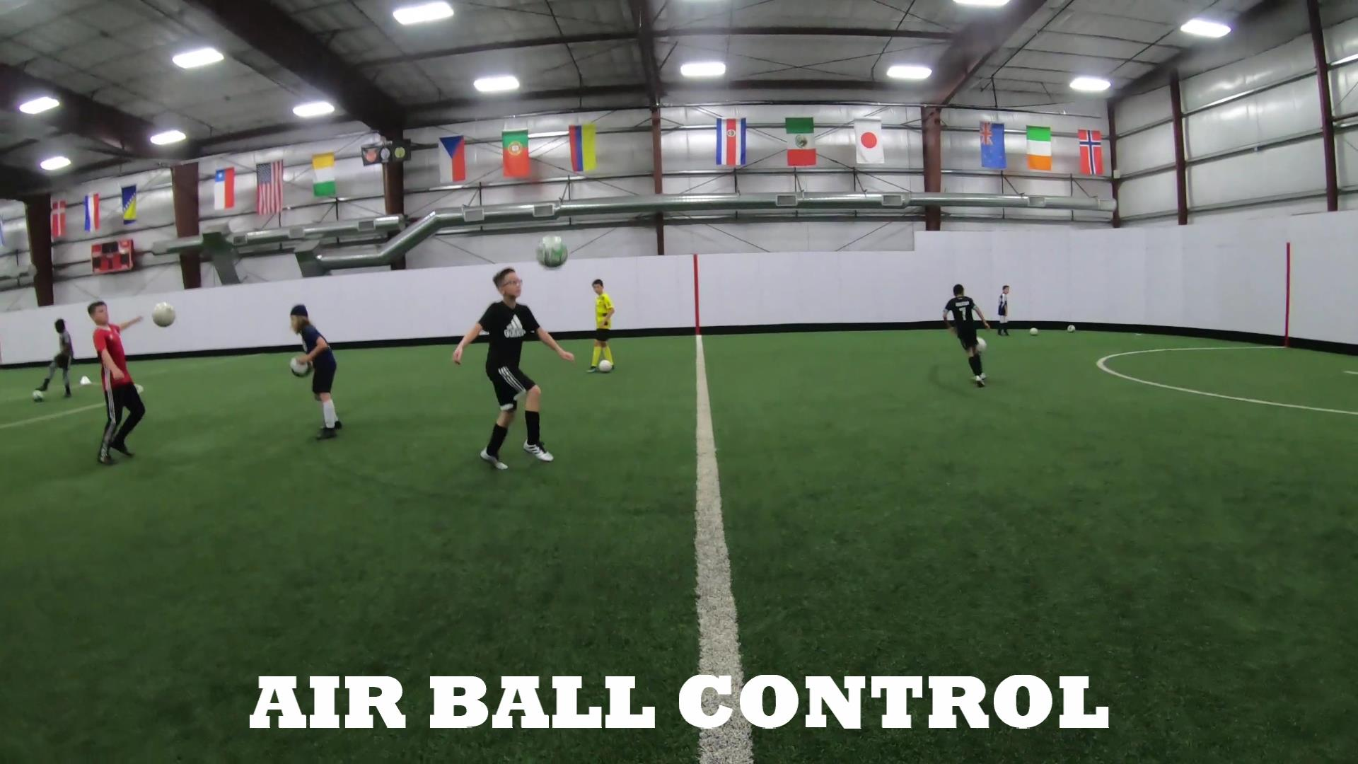 Soccer Fitness and Ball Control 1