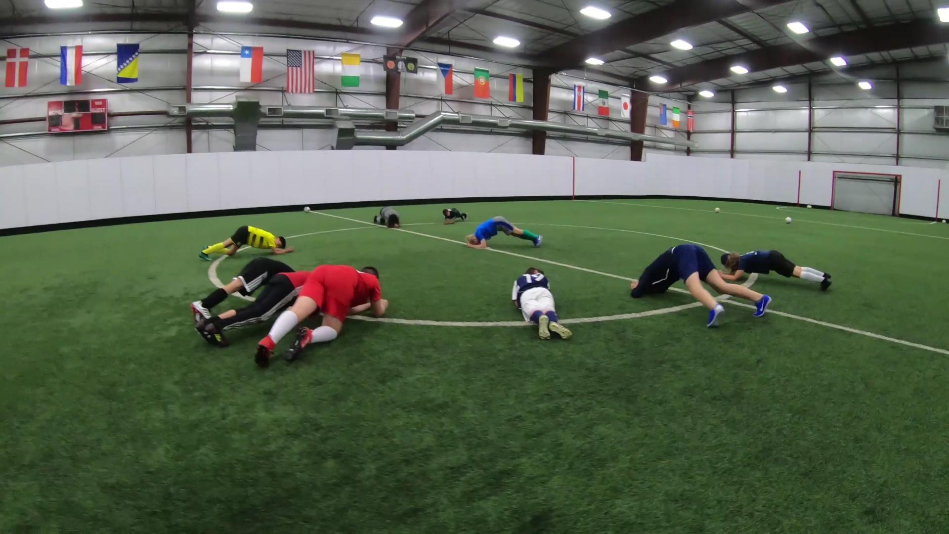 Soccer Fitness and Ball Control 6