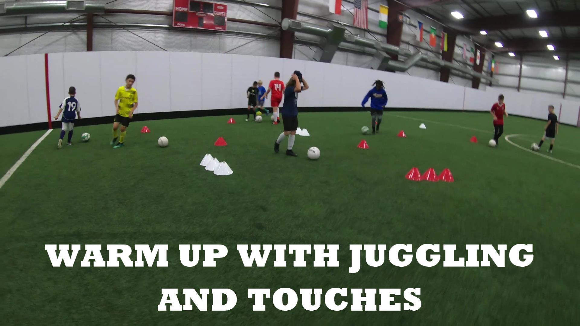 Soccer Fitness and Ball Control