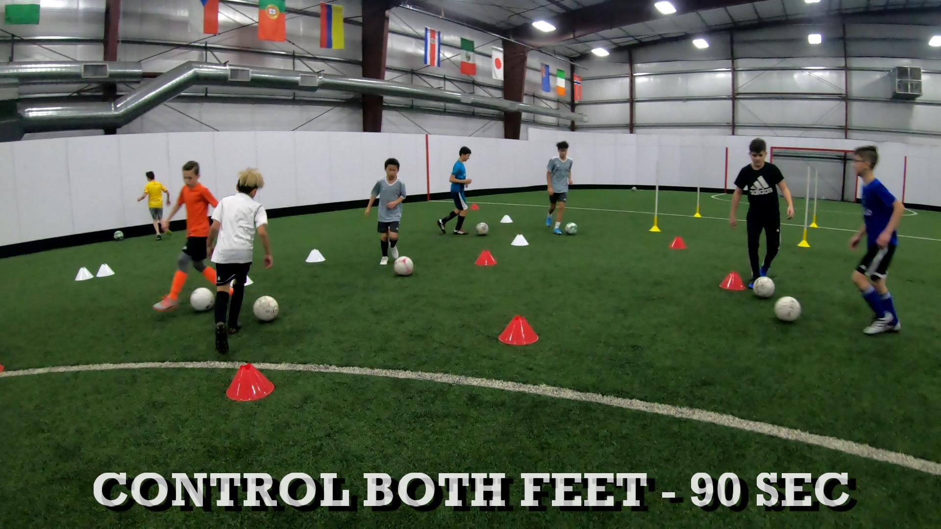 Soccer Training Drills to Improve Ball Control 1