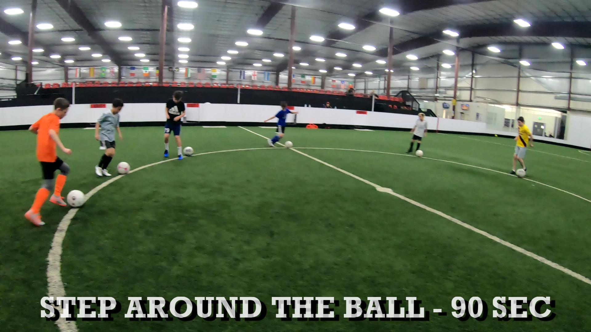 Soccer Training Drills to Improve Ball Control 2